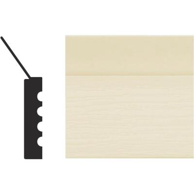 Royal Thermo Stop 2 In. W. x 7/16 In. H. x 9 Ft. L. Almond PVC Weatherstrip Garage Door Stop