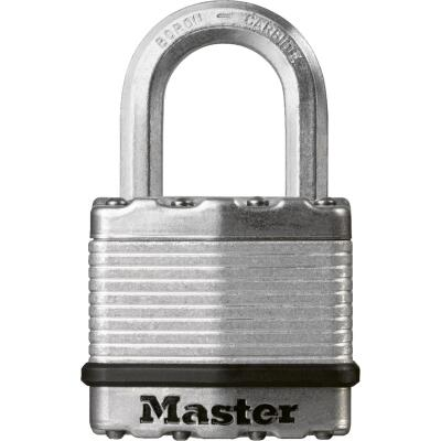 Master Lock Magnum 1-3/4 In. W. Dual-Armor Keyed Different Padlock with 1 In. L. Shackle