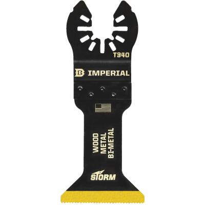 Imperial Blades 1-3/4 In. ONE FIT Titanium STORM Wood/Metal Oscillating Blade