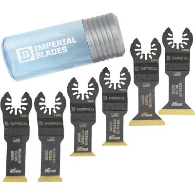 Imperial Blades One Fit Storm Oscillating Blade Assortment (6 Pieces)