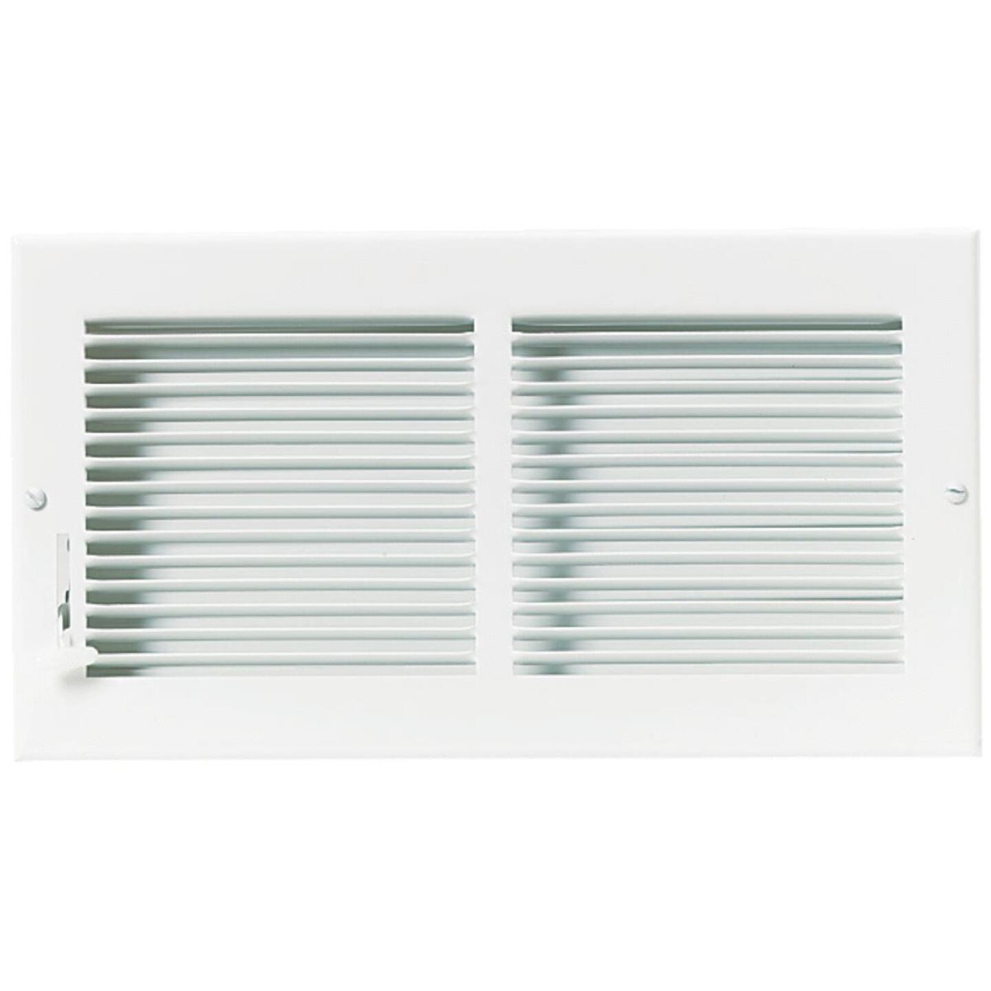 Accord 12 In. x 6 In. White Wall Register Image 2