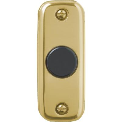 IQ America Wired Gold Doorbell Push-Button