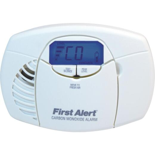First Alert Battery Operated 3V Electrochemical Digital Display Carbon Monoxide Alarm