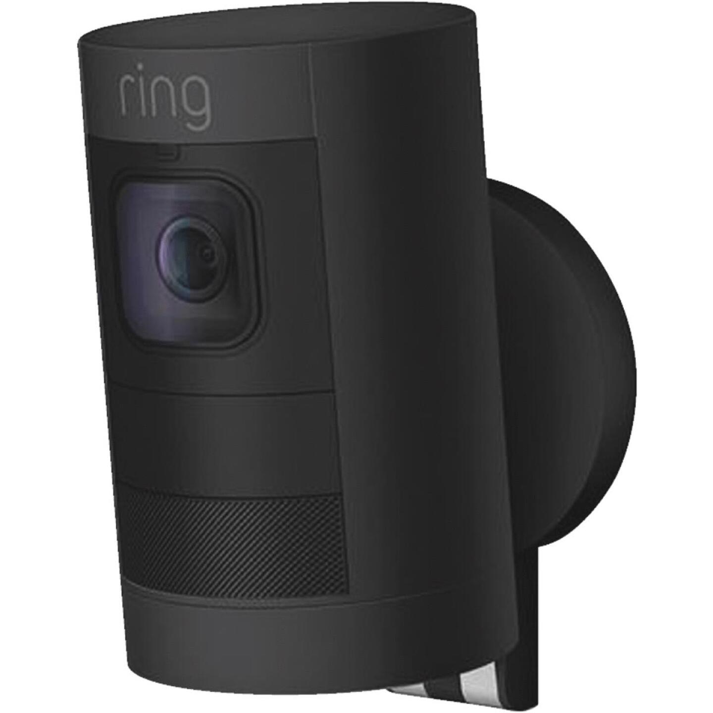 Ring Stick Up Cam Battery Operated Indoor/Outdoor Black Security Camera Image 3