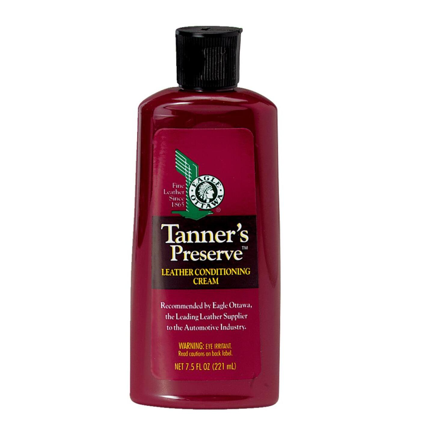 Tanners Preserve 7.5 Oz. Leather Care Conditioner Image 1