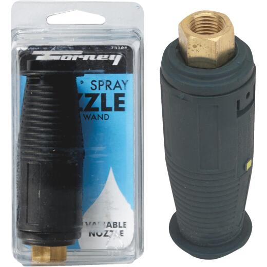 Forney 3200 psi Adjustable Turbo Pressure Washer Nozzle