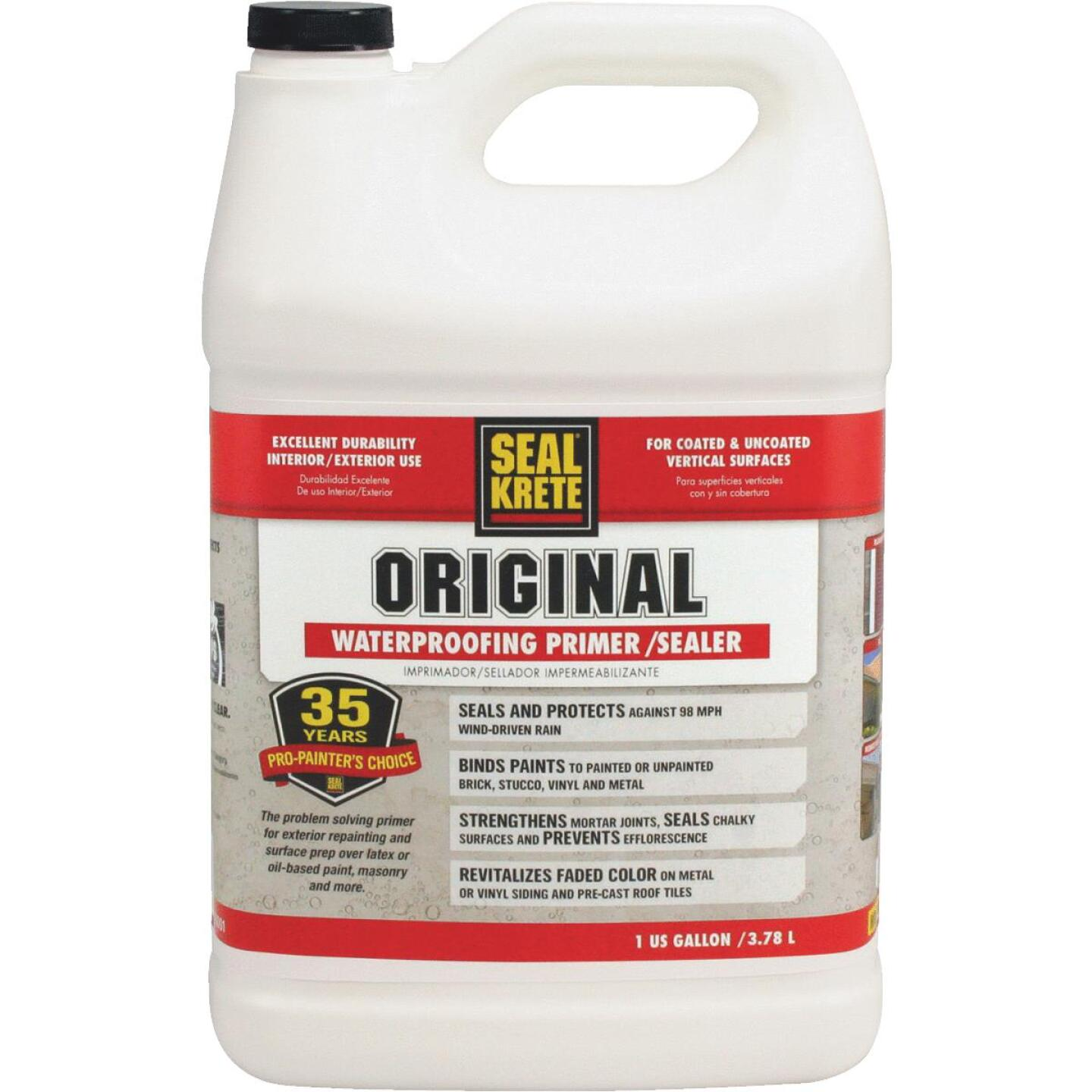 Seal Krete Clear Bonding Sealer, 1 Gal. Image 1