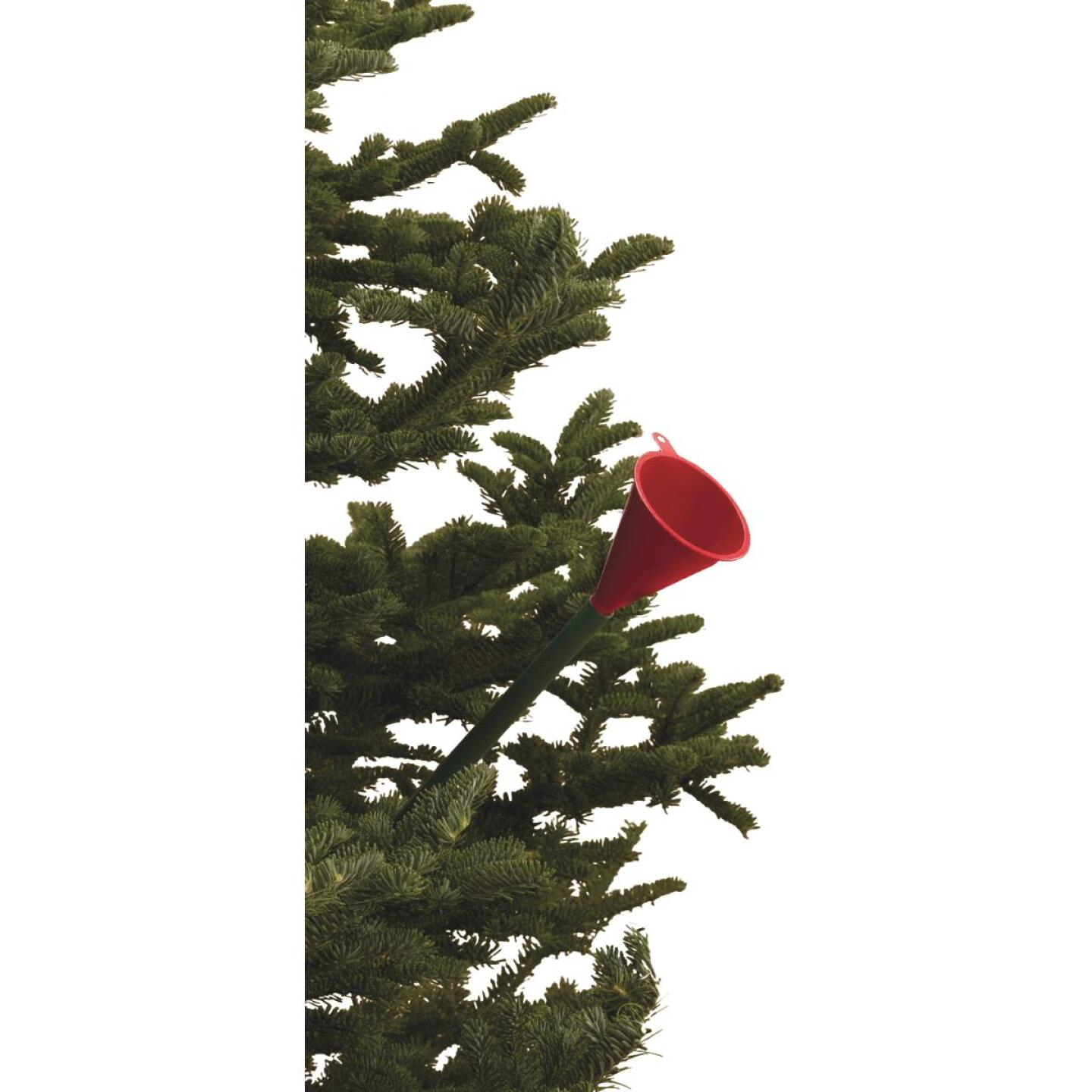HandiThings Red & Green Plastic Christmas Tree Funnel Image 1